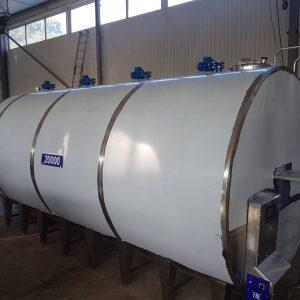 Охладитель молока закрытого типа - объём 20000 л