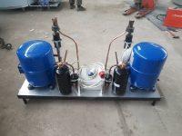 Водокольцевая вакуумная установка НВУ-75-2
