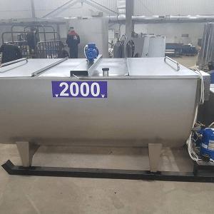 танк охладитель молока открытого типа
