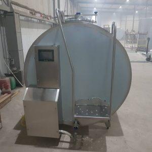 Охладитель молока закрытого типа - объём 6000 л